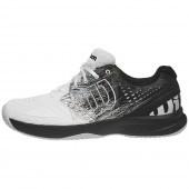 Кроссовки теннисные мужские Wilson Kaos COMP 2.0 (белый/черный)