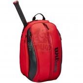 Рюкзак теннисный Wilson Federer DNA (красный/черный)