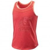 Футболка спортивная для девочек Wilson Competition Tank Girl (оранжевый)