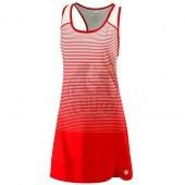 Платье спортивное женское Wilson Team Match Dress Women (красный/белый)