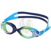 Очки для плавания детские Fashy Match Kids (синий/зеленый)