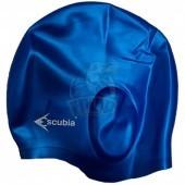 Шапочка для плавания Escubia Cuffia Ear Gard (синий)