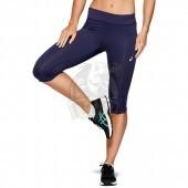 Тайтсы спортивные женские Asics Silver Knee Tight (темно-синий)