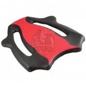 Доска для плавания AquaFeel (черный/красный)
