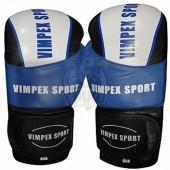 Перчатки боксерские Vimpex Sport 3033 кожа
