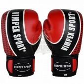 Перчатки боксерские Vimpex Sport 3034 кожа