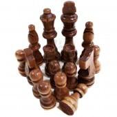Фигуры шахматные деревянные