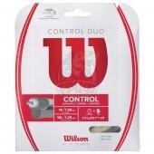 Струна теннисная Wilson Duo Power 1.25 + 1.30 12.2 м (натуральный/серебристый)