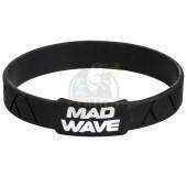 Браслет силиконовый Mad Wave (черный)