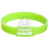 Браслет силиконовый Mad Wave (зеленый)