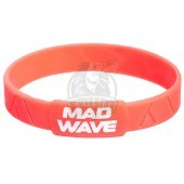 Браслет силиконовый Mad Wave (оранжевый)