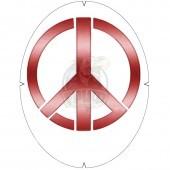 Трафарет Tourna Fun Schablone Peace