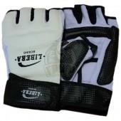 Перчатки тхэквондо Libera ПВХ (белый)