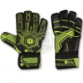 Перчатки вратарские Indigo (черный/зеленый)