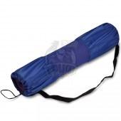 Чехол для коврика для йоги полусетчатый SM (синий)