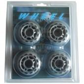 Колеса для роликовых коньков без подшипников 76х24 мм