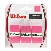 Обмотка для теннисной ракетки Wilson Pro Overgrip (розовый)
