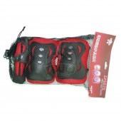 Комплект защиты для роликов (наколенники, налокотники, защита кисти)