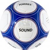 Мяч футбольный тренировочный Torres Sound для слабовидящих людей №5