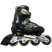 Роликовые коньки раздвижные Vimpex Sport (зеленый)