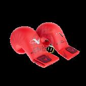 Перчатки каратэ Arawaza WKF (красные)
