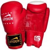Перчатки боксерские Ayoun ПВХ (красный)