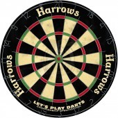 Дартс Harrows Lets Play Darts 18 дюймов (сизалевая мишень)