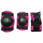 Комплект защиты роллера Vimpex Sport Cherry (розовый)