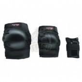 Комплект защиты роллера Vimpex Sport Black Jack (черный)