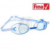 Очки для плавания стартовые Mad Wave Racer SW (голубой)