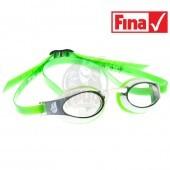 Очки для плавания стартовые Mad Wave X-Look (зеленый)