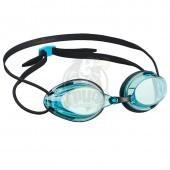 Очки для плавания стартовые Mad Wave Streamline (голубой)