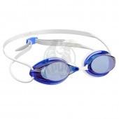 Очки для плавания стартовые Mad Wave Streamline (синий)