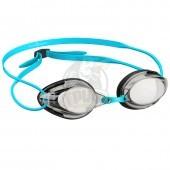 Очки для плавания стартовые Mad Wave Streamline (серый)