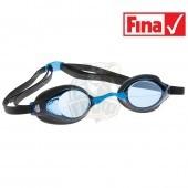 Очки для плавания стартовые Mad Wave Record Breaker (синий)