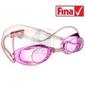 Очки для плавания стартовые Mad Wave Liquid Racing (розовый)