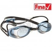 Очки для плавания стартовые Mad Wave Liquid Racing (черный)