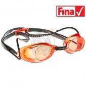 Очки для плавания стартовые Mad Wave Liquid Racing (красный)