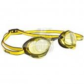 Очки для плавания стартовые Mad Wave Turbo Racer II (желтый)