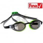Очки для плавания стартовые Mad Wave X-Look Mirror (зеленый)