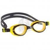 Очки для плавания юниорские Mad Wave UV Bloker Junior (черный)