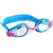 Очки-маска для плавания детские Mad Wave Bubble Kids (синий)
