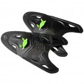 Лопатки для плавания Mad Wave Freestyle (черный)