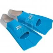 Ласты укороченные Mad Wave Fins Training (синий)
