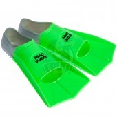 Ласты тренировочные укороченные Mad Wave Fins Training (зеленый)