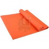 Коврик гимнастический для йоги Starfit (оранжевый)