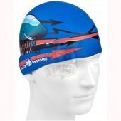 Шапочка для плавания юниорская Mad Wave Submarine Cap Junior