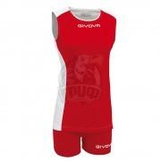 Форма волейбольная женская Givova Kit Volley Piper