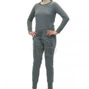 Костюм спортивный женский Asics Sweater Suit (серый)