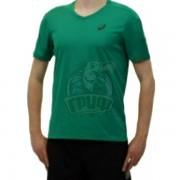 Футболка волейбольная мужская Asics Ss Tee Indoor (зеленый)